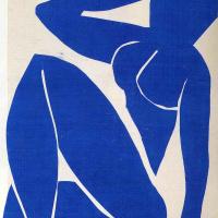 Синяя обнаженная