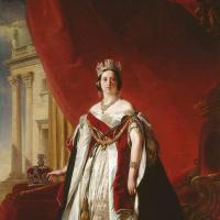 Франц Ксавер Винтерхальтер. Портрет королевы Виктории