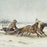 Петр Петрович Соколов. Генерал Топтыгин. 1875