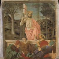 Пьеро делла Франческа. Воскресение Христа