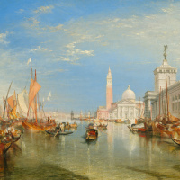 Венеция. Догана и базилика Сан-Джорджио Маджоре