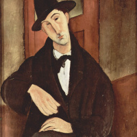 Амедео Модильяни. Портрет Марио Варфольи