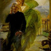 Albert Pierre René Maignan. Green Muse