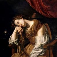 Мария Магдалина в образе Меланхолии