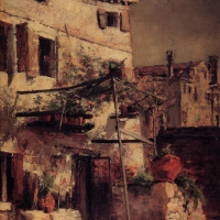 Джон Генри Твахтман. Венецианская сцена