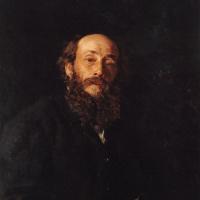 Илья Ефимович Репин. Портрет художника Н. Н. Ге