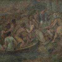 The rape of Helen (school of Raphael)