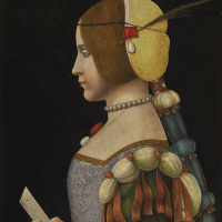 Unknown artist. Portrait of a Lady in Profile