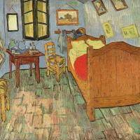 Винсент Ван Гог. Спальня в Арле (второй вариант)