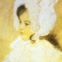 Густав Климт. Портрет девочки (Портрет Мэри Молл)