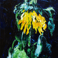 Кандинский-ДАЕ. Sunflower.