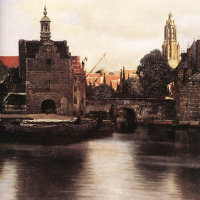 The View Of Delft. Fragment