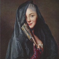 Lady under the veil. Marie Suzanne Roslen