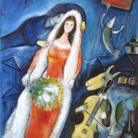 Марк Захарович Шагал. Невеста