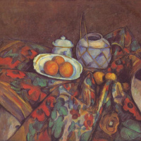 Натюрморт с апельсинами