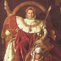 Жан Огюст Доминик Энгр. Портрет Наполеона I