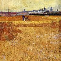 Винсент Ван Гог. Арль: вид с пшеничных полей