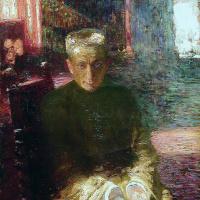 Илья Ефимович Репин. Портрет А. Ф. Керенского