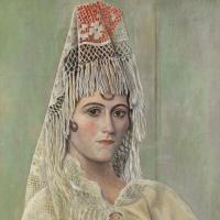 Pablo Picasso. Olga Khokhlova in Mantilla