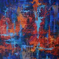 """Таня Василенко. """"Рассвет"""", акрил, холст. Dawn. Acrylic on Canvas."""