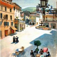 Пьяцца-дель-Коммуне в Ассизи