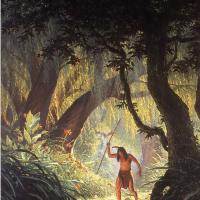 Тим Хильдебрандт. Индейский рыбак