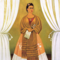 Фрида Кало. Автопортрет, посвященный Льву Троцкому