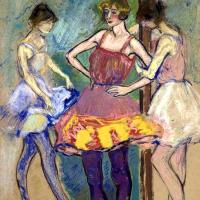 Three dancers