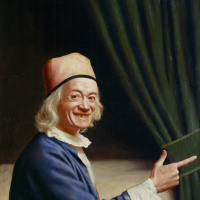 Self-portrait (Liotard laughing)