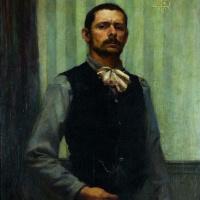 Georges Devalier. Self-portrait