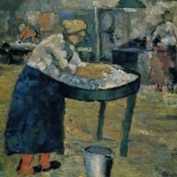 Kazimir Malevich. Laundress