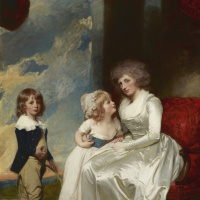 George Romney. Henrietta, Countess of Warwick, and Her Children