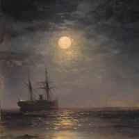 Иван Константинович Айвазовский. Лунная ночь