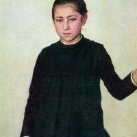Илья Ефимович Репин. Портрет В. И. Репиной