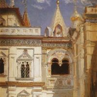 Василий Дмитриевич Поленов. Теремной дворец. Наружный вид