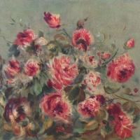 Пьер Огюст Ренуар. Натюрморт. Розы из Важемона