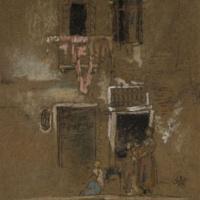 Джеймс Эббот Макнейл Уистлер. Записка в розовом и коричневом