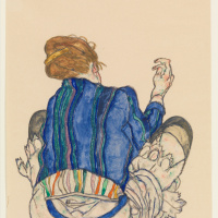 Seated Woman, Back View