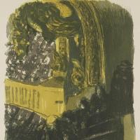 Jean Edouard Vuillard. Gallery at the theatre Gymnase