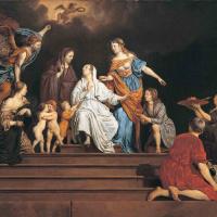 Аллегория. Невинность между добродетелями и пороками