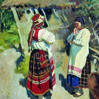 Сергей Арсеньевич Виноградов. Бабы тульские