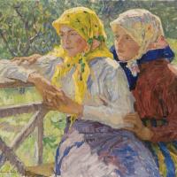 Латгальские девочки