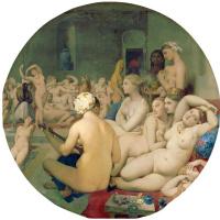 Жан Огюст Доминик Энгр. Турецкие бани