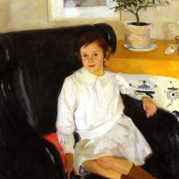 Portrait Of N. M. Nesterova