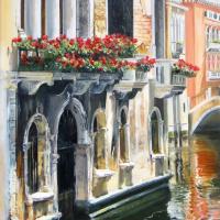 Любовь Маковская. Венеция 3 (триптих)