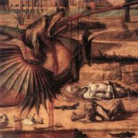 Витторе Карпаччо. Св. Георгий и дракон. Фрагмент