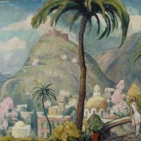 Einar Wegener (Lily Elbe). Capri, Italy
