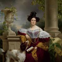 Jan Adam Cruzemann. Portrait Alida Christina Assink