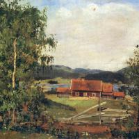 Landscape. Maridalen near Oslo