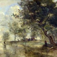 Камиль Коро. Наводнение